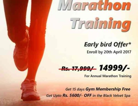 Early bird offers for Marathon Training