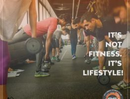 It's not fitness